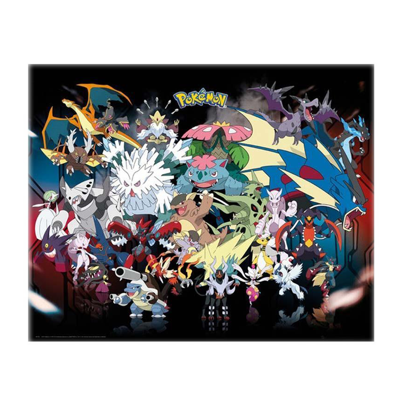 Pokemon Mega Mini Poster - www.entertainmentstore.in