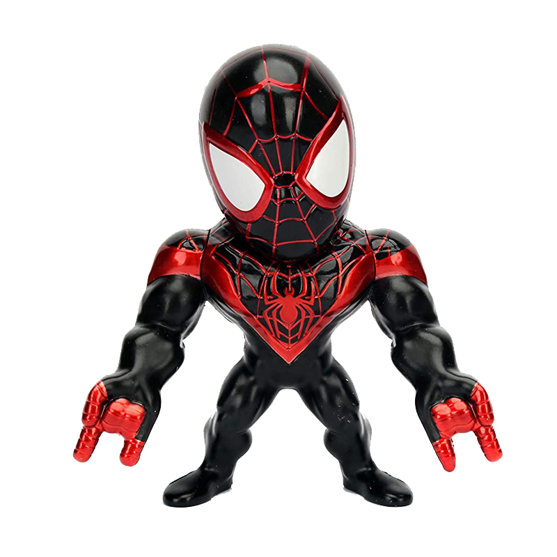 Spiderman Miles Morales Diecast Metal Figure - www.entertainmentstore.in