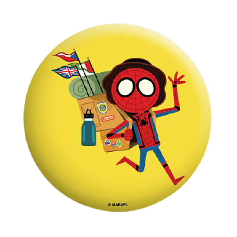 Spiderman Tour FFH Badge - www.entertainmentstore.in