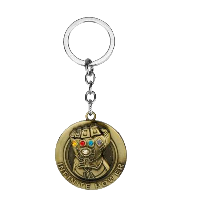 Thanos Infinite Power Keychain - www.entertainmentstore.in