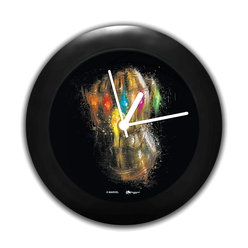 Thanos Infinity Marvel Table Clock - www.entertainmentstore.in