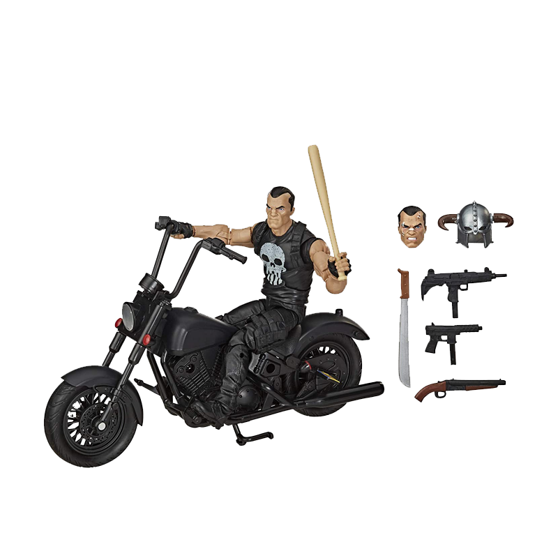 The Punisher With Motorcycle Marvel Legends Series Action figures - www.entertainmentstore.in