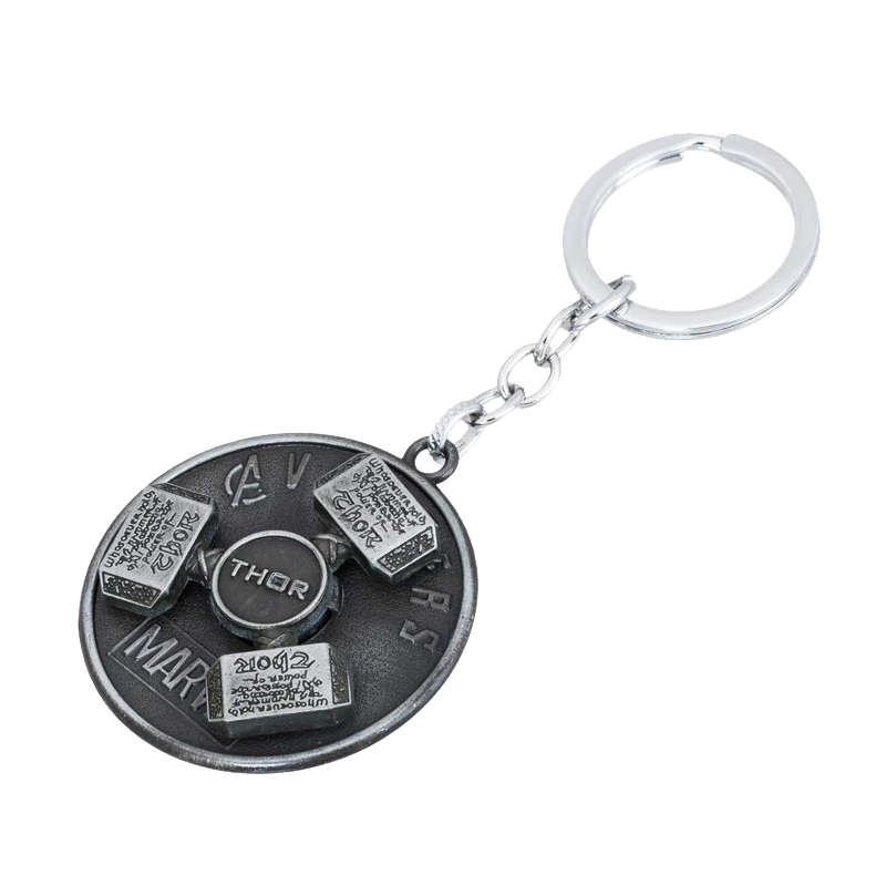 Thor Hammer Spin Keychain - www.entertainmentstore.in