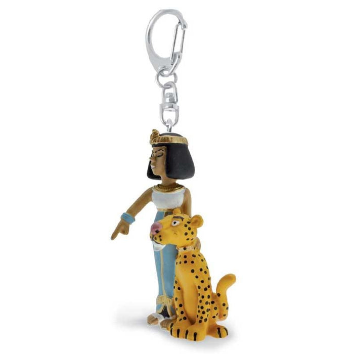 Asterix Cleopatra and her panther Keychain