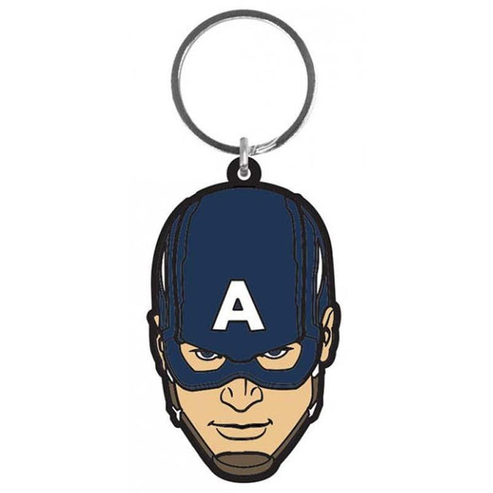 Avengers Age Of Ultron Captain America Rubber Keychain —  www.entertainmentstore.in 4d86ffdb05
