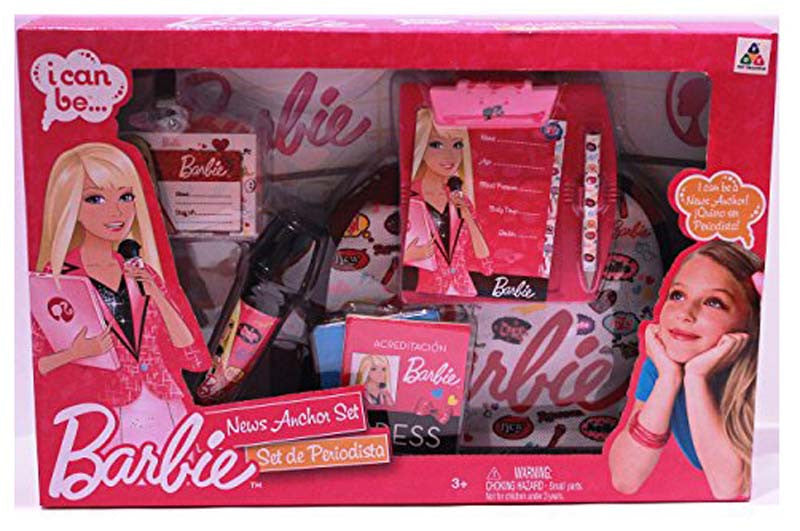 Barbie News Anchor Medium Box Set