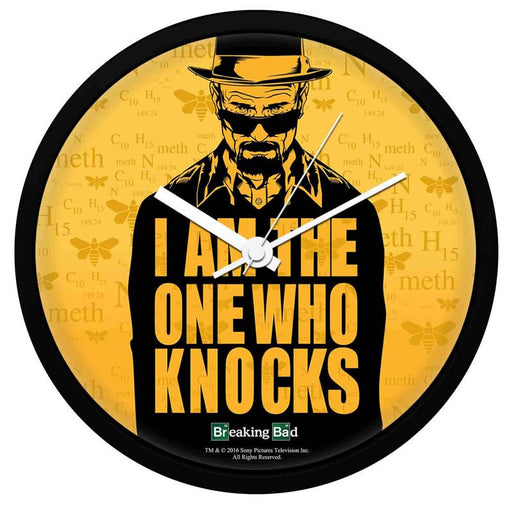 Breaking Bad I Am One Who Knocks Wall Clock