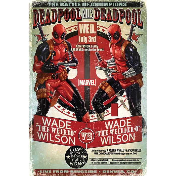 Deadpool Wade vs Wade Maxi Poster
