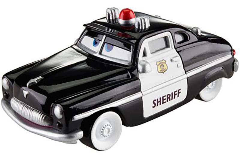 Disney Pixar Cars Wheel Sheriff Action Drivers Vehicle