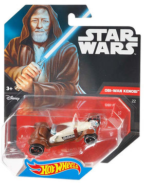 Hot Wheels Star Wars Character Car Obi-Wan Kenobi Ep 4
