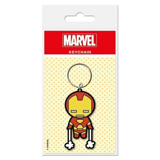 Marvel Kawaii Iron Man Rubber Keychain