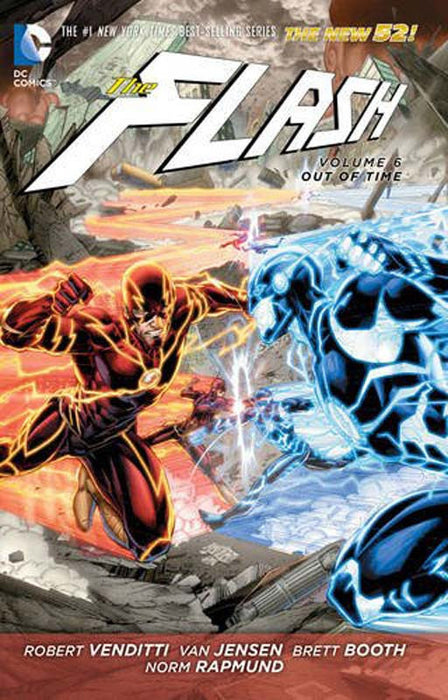 The Flash Vol 6 Out Of Time Paperback
