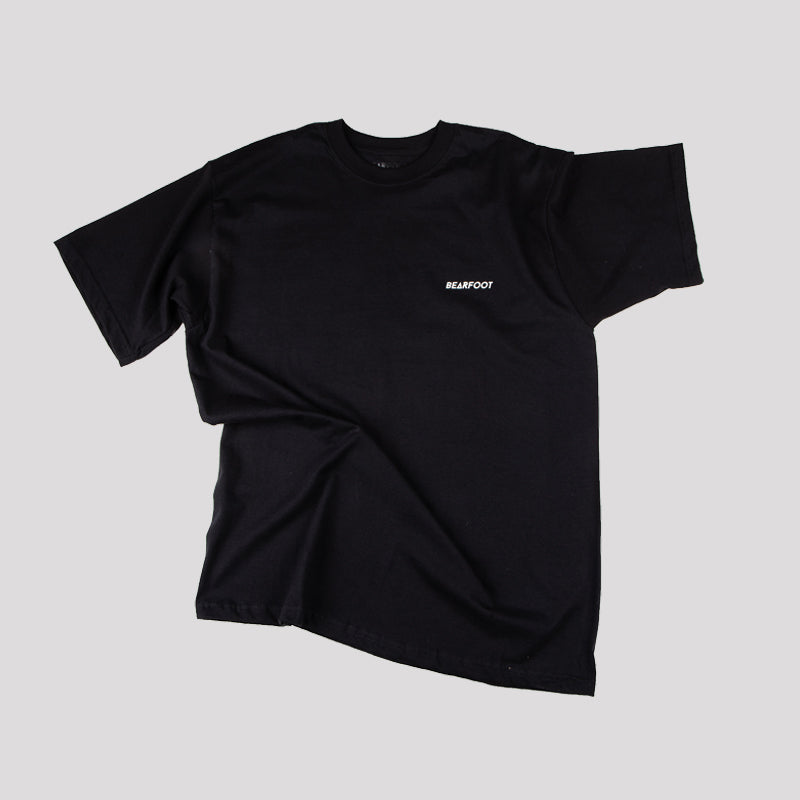 Load image into Gallery viewer, Beware Of The Bear Black Tee