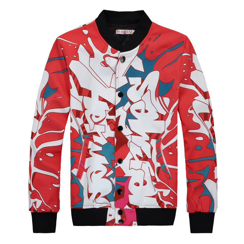 Graffiti Slim Jacket