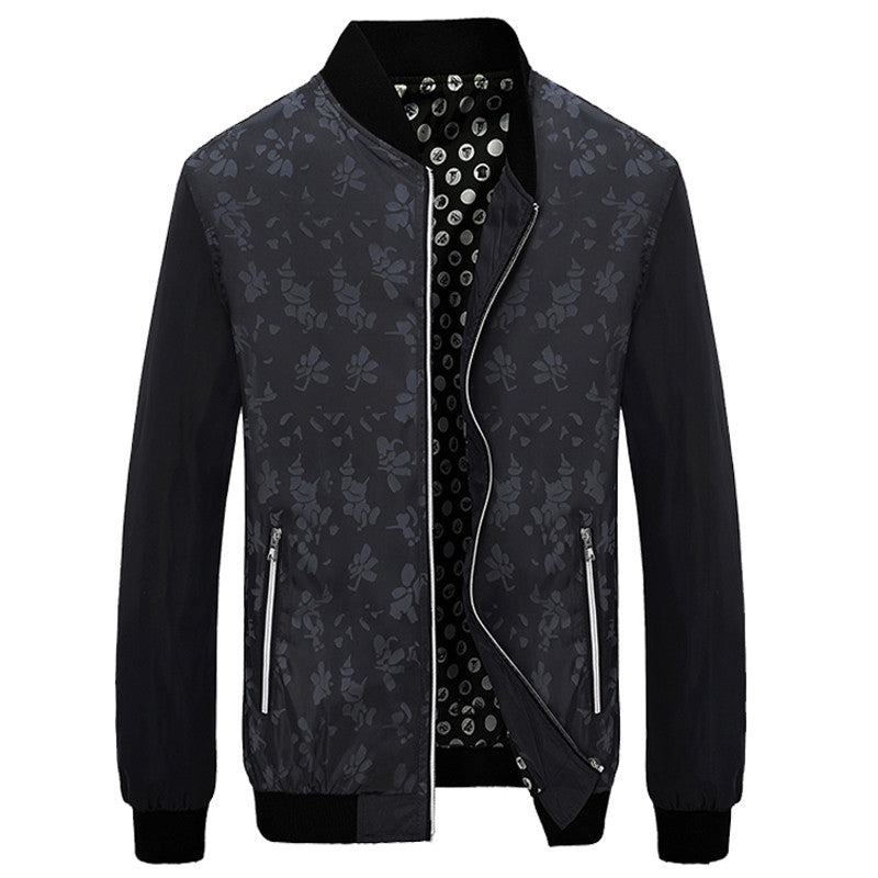 Floral Design Slim Jacket (Multiple Variations)