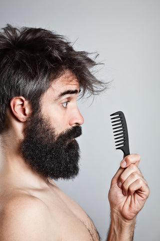 Curly Beard? No Problem! | Palm Beach Naturals