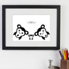 Personalised Monkey Family Members WA104