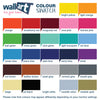 colour swatch for wall decals