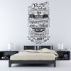 'But Seek First His…' Wall Sticker O167