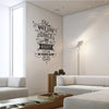 'You Only Live Once…' Wall Sticker O153