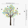 Single tree with Birds Flying Decal Vinyl Wall Sticker
