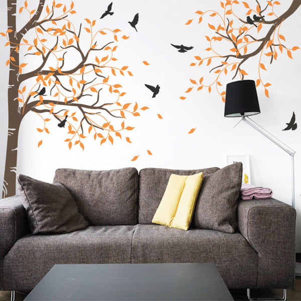 Tree and Branch with Birds R27