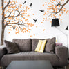 Tree and Branch with Birds Decal Vinyl Wall Sticker