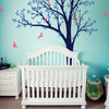 Classic Tree with Birds Decal Vinyl Wall Sticker