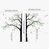 A Cool Corner Tree Decal Vinyl Wall Sticker