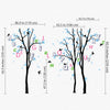 Alphabet Trees Decal Vinyl Wall Sticker