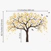 Large Woodland Tree Decal Vinyl Wall Sticker