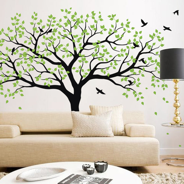 Large Woodland Tree Decal Vinyl Wall Sticker Www Wallart
