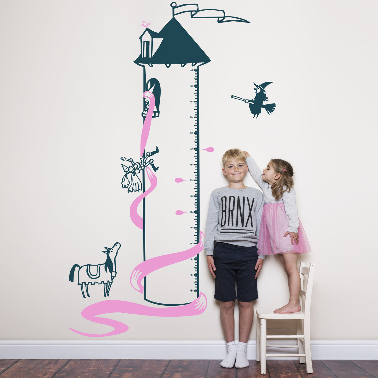 Children's Rapunzel's Tower Height Chart