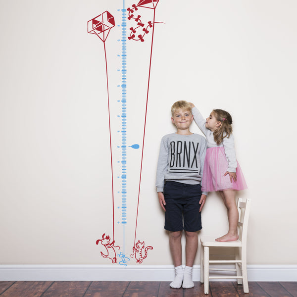 Kite Flying Children's Height Chart