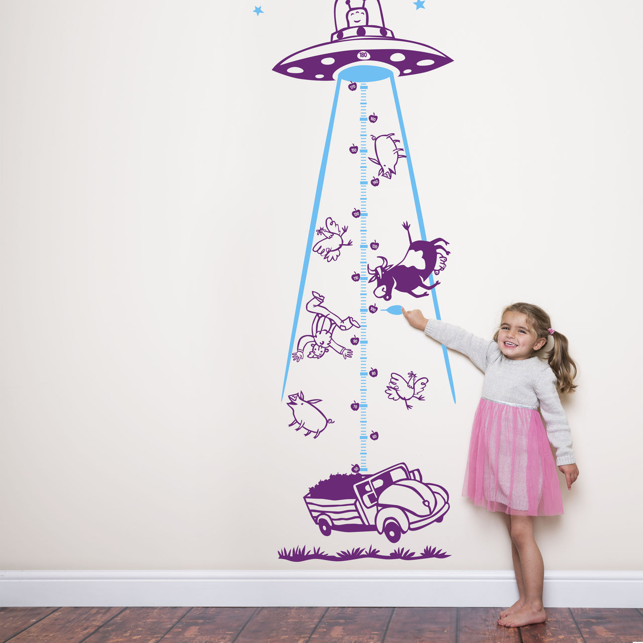 UFO Height Chart for Children