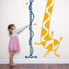 Cool Giraffe Height Chart for Children