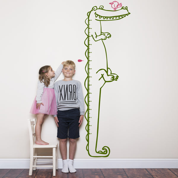 Crocodile Height Chart for Children