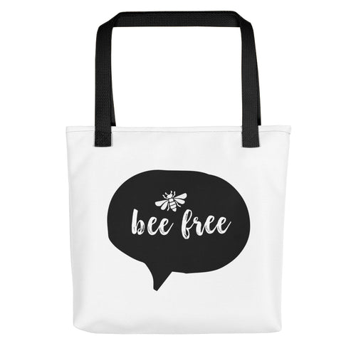 BEE FREE Tote Bag