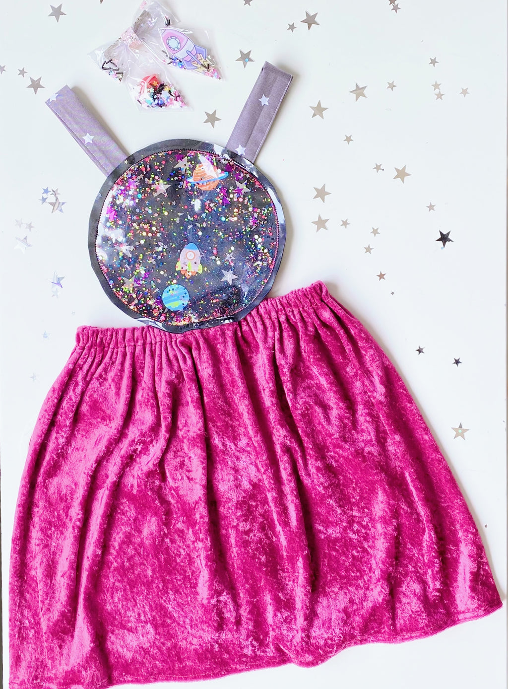 Space dress size (4-6)
