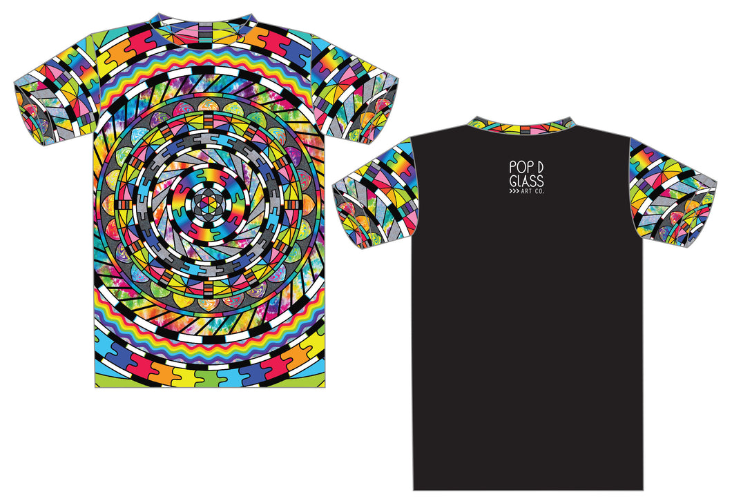 Trippy Montage T Shirt