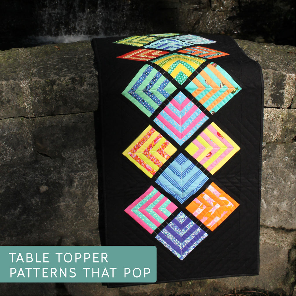 From Cut Loose Press Patterns NEW EASY ARTSY ENVELOPE CLUTCH QUILTING PATTERN