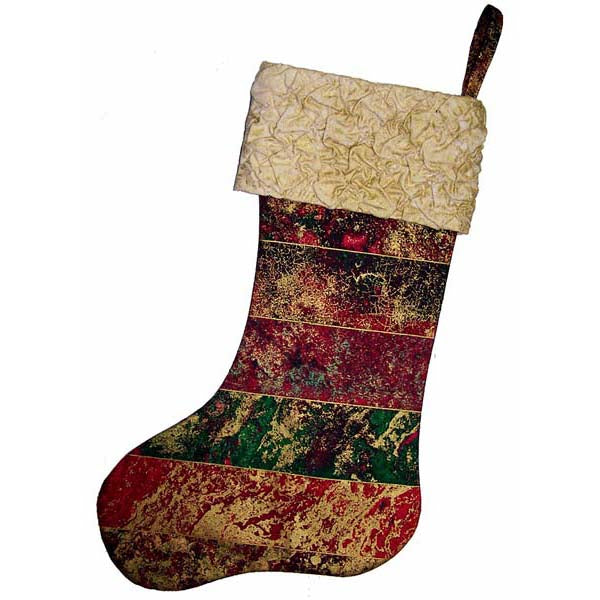 Fabric Magic Cuff Stocking