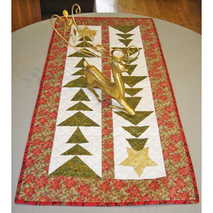 Tall Trees Christmas Table Runner PDF Pattern