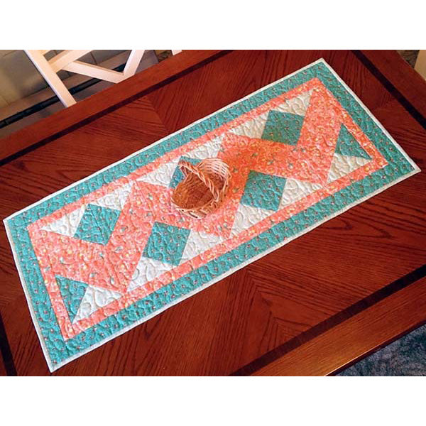 Double Chevron Table Runner PDF Pattern