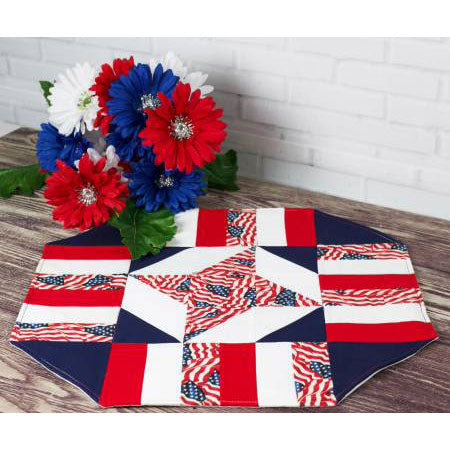 Easy Patriotic Table Topper