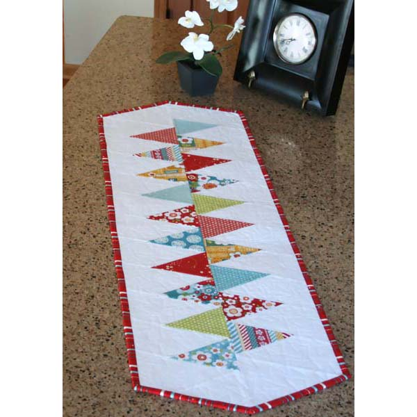 Winding Road Table Runner