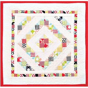 Around the Square Mini Quilt PDF Pattern