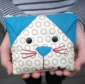 Cat's Meow Coin Purse PDF Pattern