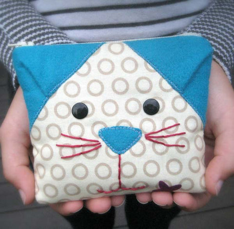 Cat's Meow Coin Purse