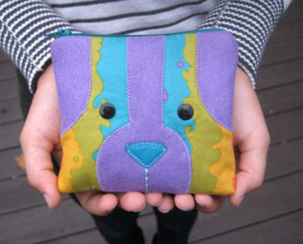 Doggie Bag Coin Purse PDF Pattern